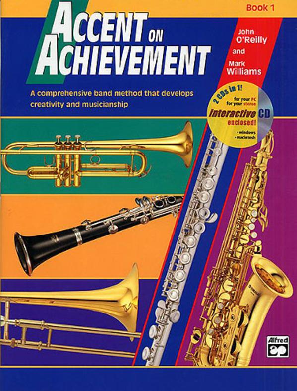 accent on achievement trombone book 1. Black Bedroom Furniture Sets. Home Design Ideas
