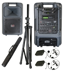 Sound Projections SM-5 with dual 123-channel headset wireless & CD/MP3 player