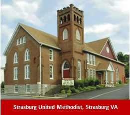Strasburg United Methodist, Strasburg VA