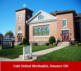 Fohl United Methodist, Navarre OH