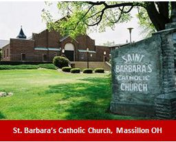 St. Barbara's Catholic Church, Massillon OH