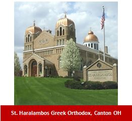 St. Harambolous Greek Orthodox, Canton OH