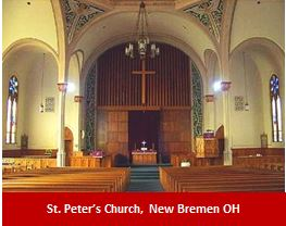 St. Peter's Church, New Bremen OH