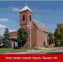 Holy Family Catholic Church, Navarre OH