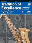 Tradition of Excellence Tenor Saxophone Book 2