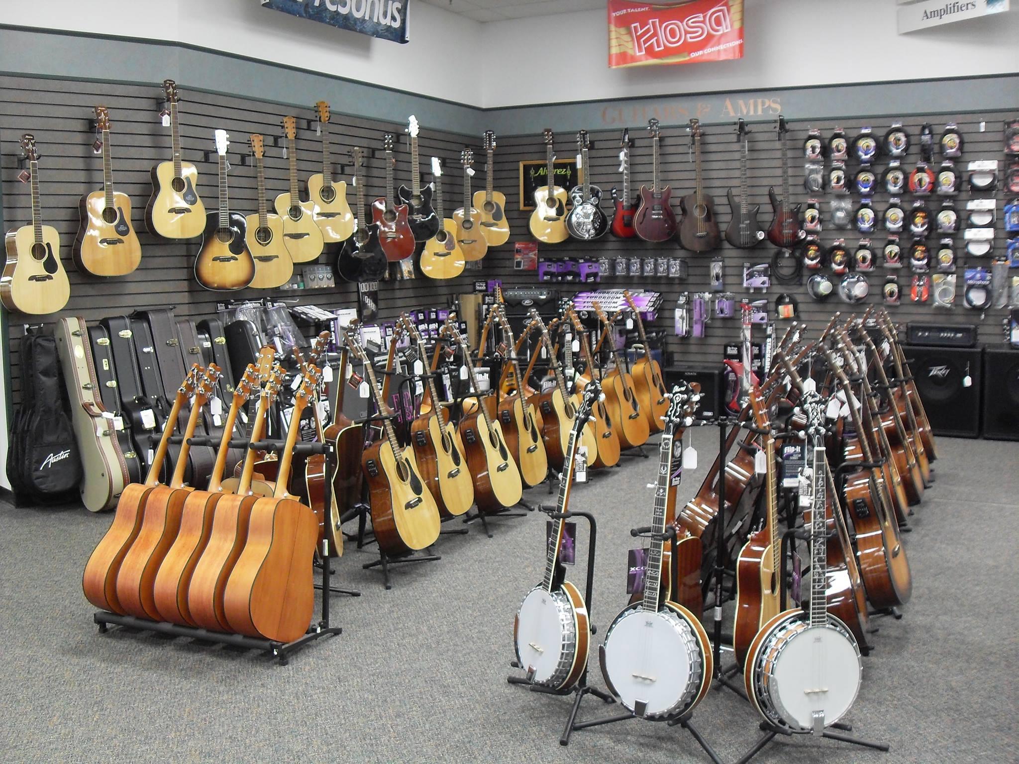 Guitar Showroom