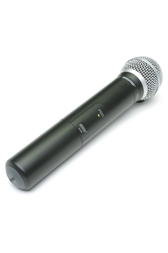 Sound Projections Shure Frequency Agile UHF handheld  wireless transmitter only.