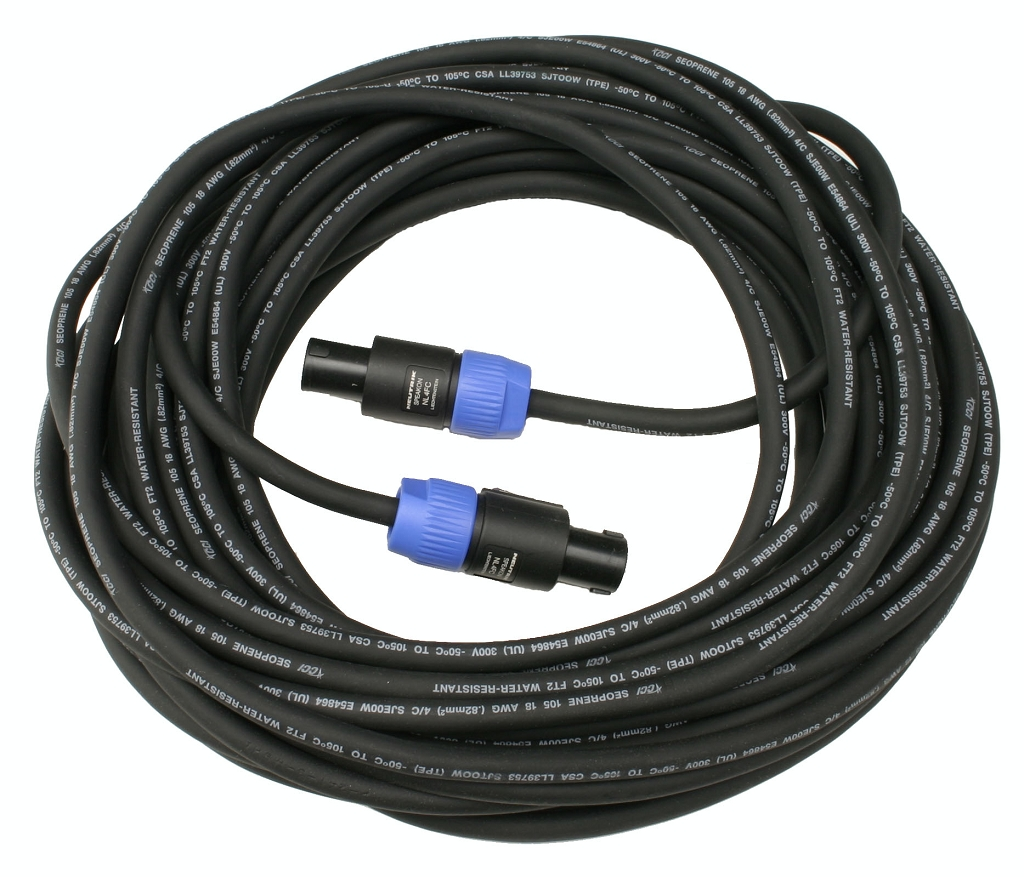 Sound Projections 100 foot speaker cable