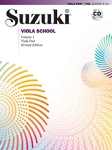 Suzuki Viola School Volume 1 Book & CD