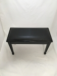 Ebony Padded Piano Bench