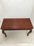 Cherry Piano Bench with Queen Anne Legs