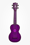 Waterman Fluorescent Purple Soprano Ukulele