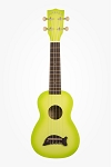 Makala Green Apple Burst Dolphin Ukulele
