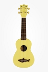 Makala Coral Yellow Shark Ukulele
