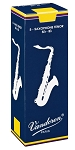 Vandoren Tenor Sax Traditional Reeds Strength #2.5; Box of 5