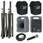 VM-2 Deluxe 123-channel Hand-Held wireless package with comp speaker
