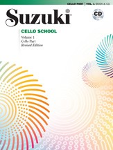 Suzuki Cello School Volume 1 Book & CD