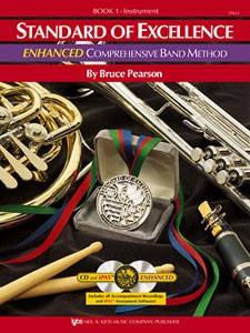 Standard of Excellence Alto Saxophone Book 1 Enhanced