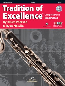 Tradition of Excellence Bass Clarinet Book 1