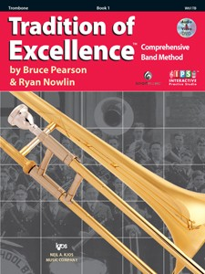 Tradition of Excellence Trombone Book  1