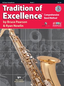 Tradition of Excellence Alto Saxophone Book  1