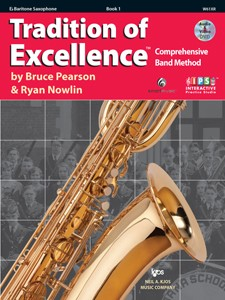 Tradition of Excellence Baritone Saxophone Book  1