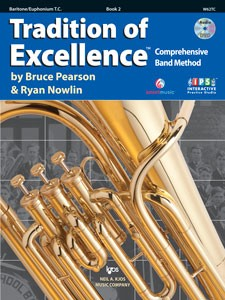 Tradition of Excellence Baritone/Euphonium T.C. Book 2
