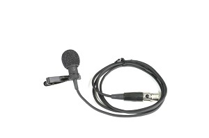Sound Projections Lapel Microphone for Shure body pack-transmitter.