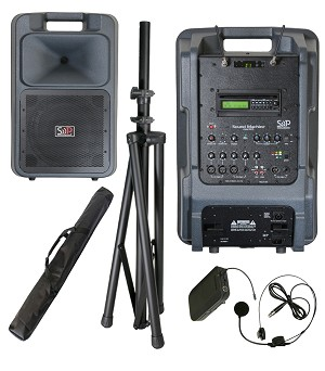 Sound Projections SM-5 123-channel headset wireless CD/MP3 package
