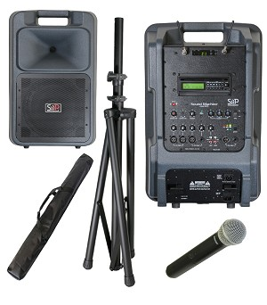 Sound Projections SM-5 123-channel handheld wireless CD/MP3 package