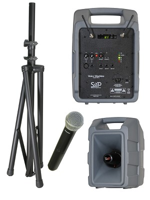 Voice Machine single 123-channel wireless handheld package